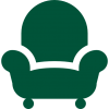 armchair-silhouette